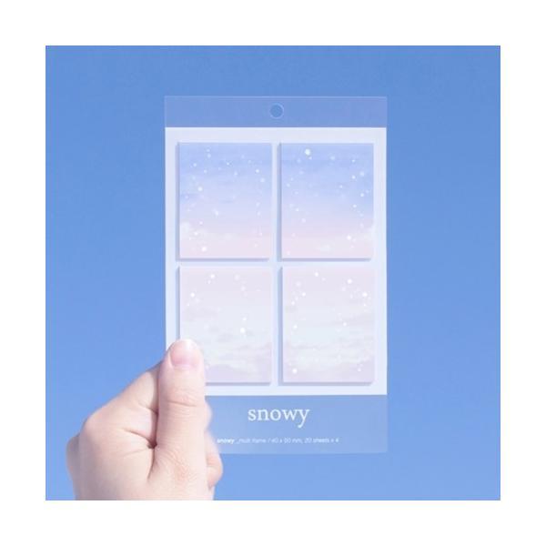 韓国雑貨 WEATHER IT snowyt[Large][韓国文房具][可愛い][かわいい][韓国 お土産]TBT984259
