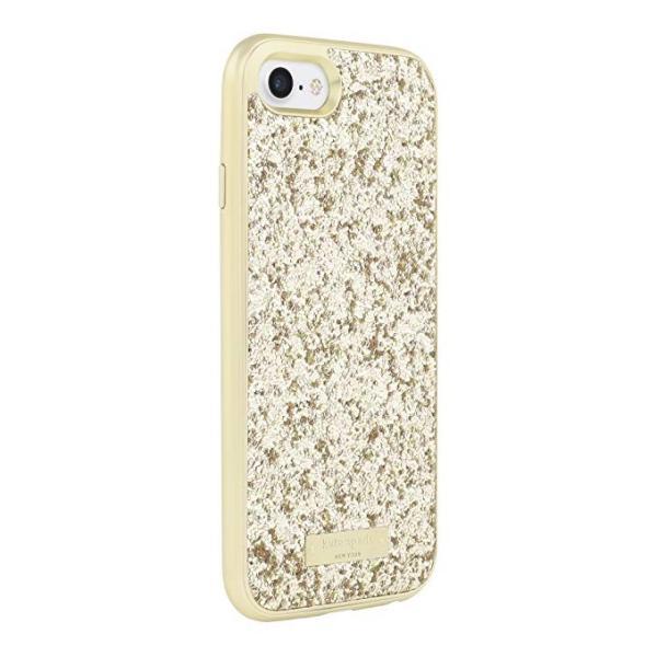 kate spade new york(ケイトスペード)iPhone 7/8 ケース(エクスポーズ グリッター ゴールド)|serekuto-takagise|02
