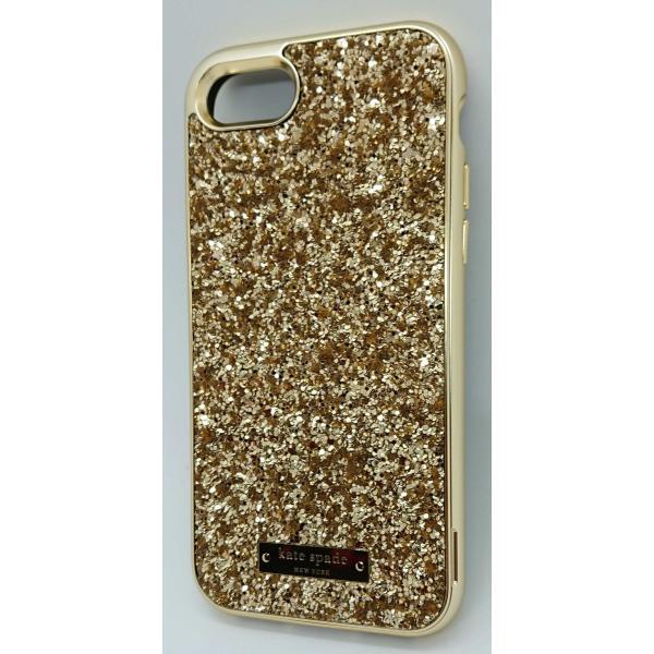kate spade new york(ケイトスペード)iPhone 7/8 ケース(エクスポーズ グリッター ゴールド)|serekuto-takagise|04