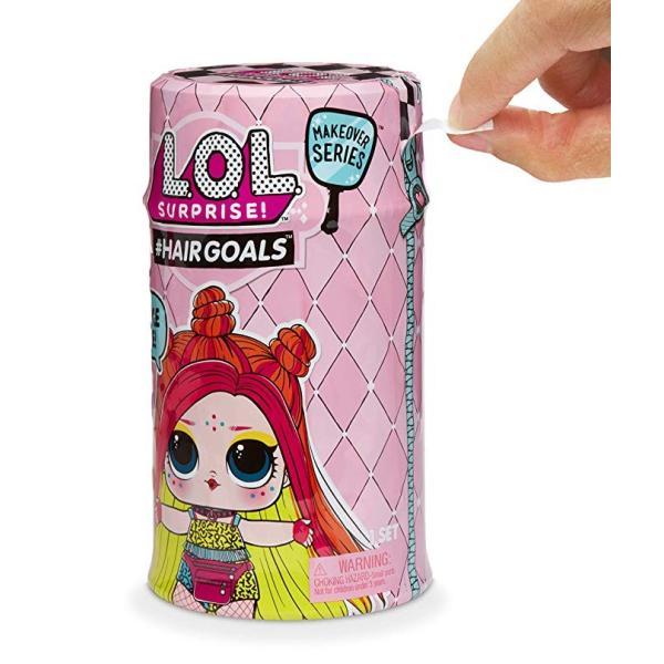 L.O.L. Surprise! Makeover Series Hairgoals Real Hair リアルヘア LOL サプライズ メークオーバーシリーズ2 serekuto-takagise 02