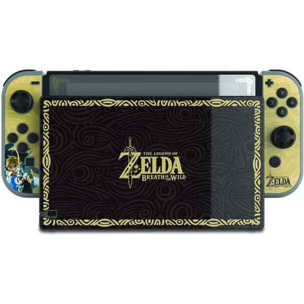 任天堂ライセンス商品 PDP Nintendo Switch スイッチ スキンシール&スクリーンプロテクター&アナログコントローラーキャップセット ゼルダ serekuto-takagise 03