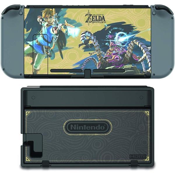 任天堂ライセンス商品 PDP Nintendo Switch スイッチ スキンシール&スクリーンプロテクター&アナログコントローラーキャップセット ゼルダ serekuto-takagise 04