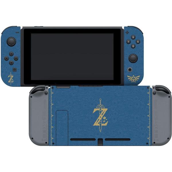 任天堂ライセンス商品 コントローラーギア Nintendo Switch スイッチ スキンシール&スクリーンプロテクターセット ゼルダの伝説 serekuto-takagise 03