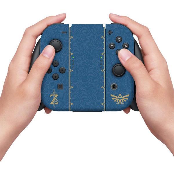 任天堂ライセンス商品 コントローラーギア Nintendo Switch スイッチ スキンシール&スクリーンプロテクターセット ゼルダの伝説 serekuto-takagise 04