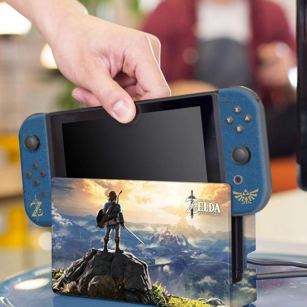 任天堂ライセンス商品 コントローラーギア Nintendo Switch スイッチ スキンシール&スクリーンプロテクターセット ゼルダの伝説 serekuto-takagise 05