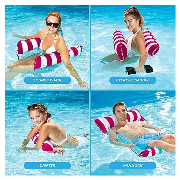 浮き輪 フロート ハンモック プール 海水浴 多目的 大人用 子供用 海外大人気商品|serekuto-takagise|02