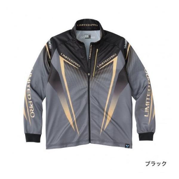 シマノ フルジップシャツLIMITED PRO(長袖) SH-011S ブラック L sessya