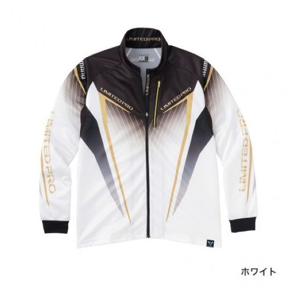 シマノ フルジップシャツLIMITED PRO(長袖) SH-011S ホワイト M|sessya
