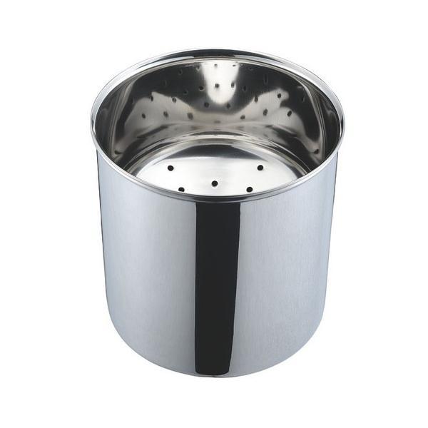 料理道具 厨房用品 / 18-8 天かす入れ 中 寸法: φ180 x H180mm