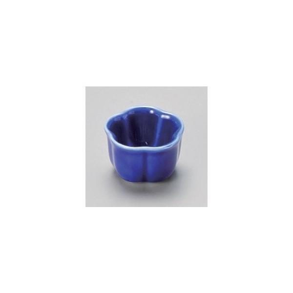 和食器 / 珍味 ルリ(3.5cm)梅形豆珍味 寸法:3.5 x 2.5cm