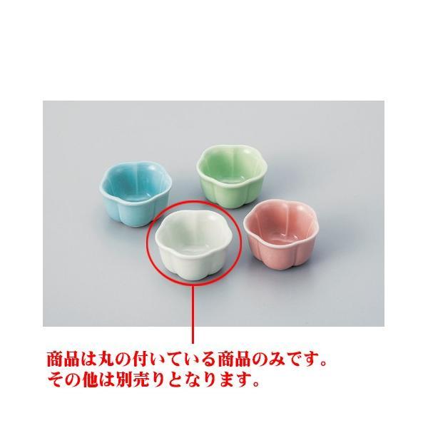 和食器 / カラー珍味 アイボリー梅型珍味 寸法:5 x 3cm