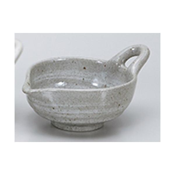 卓上小物 和食器 / 粉引青釉納豆鉢 寸法:16.5 x 12.5 x 8.3cm