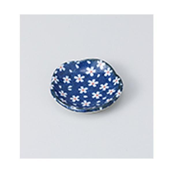 珍味 和食器 / 山桜 梅型豆皿 寸法:6.3 x 1.5cm