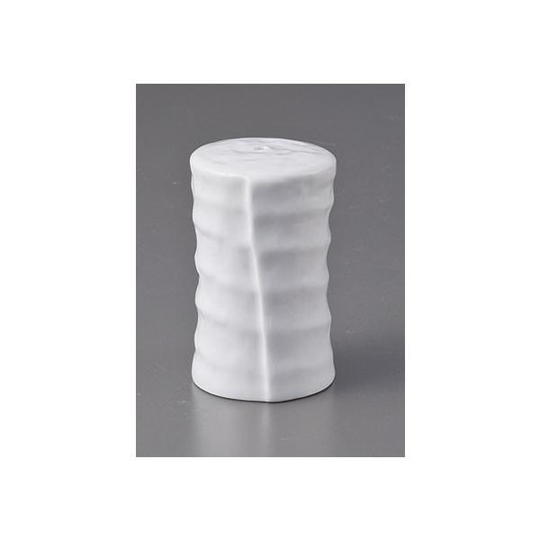 卓上小物 白磁つづみふりかけ [D4 x 7cm]  料亭 旅館 和食器 飲食店 業務用