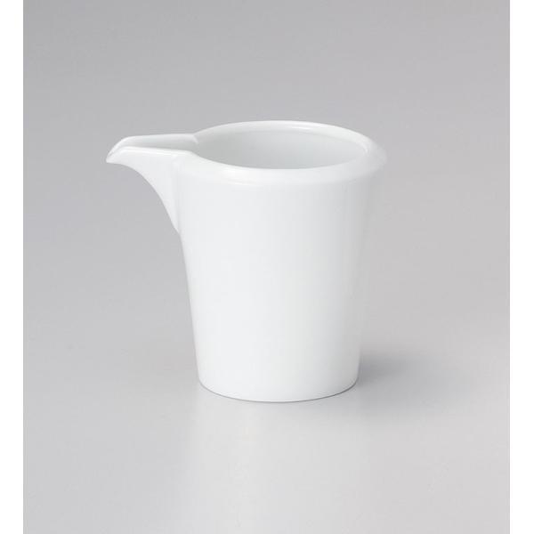 洋陶器 オープン/スパダ ピュアホワイト クリーマー [9.4 x 7.3 x 8.3cm・210cc]  料亭 旅館 和食器 飲食店 業務用