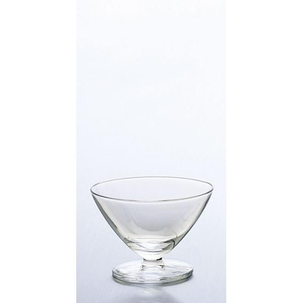 ガラス製品 Hcm AXドレッシーシャーベット (6個入) [D104 x 72(最大径104)mm 195cc]料亭 旅館 和食器 飲食店 業務用
