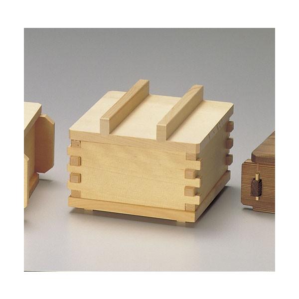 木/竹製品 檜 山菜セイロセット(身 蓋 台 竹ス) (A-5) [内寸約12x12x4.5cm]  料亭 旅館 和食器 飲食店 業務用