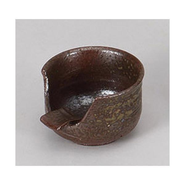 灰皿 灰吹1人用灰皿(手造り) [8.7 x 9.5 x 6cm] 土物 料亭 旅館 和食器 飲食店 業務用