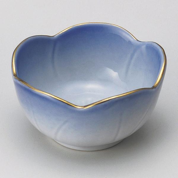 珍味 ブルー梅型珍味鉢 [ 6.2 x 3.4cm ] 料亭 旅館 和食器 飲食店 業務用