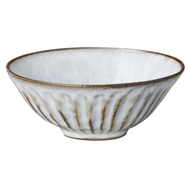 和食器 飯碗 / 黒土粉引 平茶碗(大) 寸法: 13.6 x 5.3cm・313cc 200g