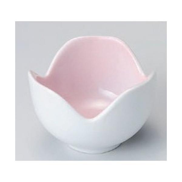 ☆ 珍味 ☆ピンク吹割山椒珍味 (大) [ 6.2 x 6.2 x 4.5cm 60g ] 【 料亭 旅館 和食器 飲食店 業務用 】
