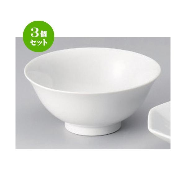 3個セット ☆ 中華小物 ☆5.0スープ碗 [ 15 x 6.7cm 256g ] 【 ラーメン店 中華食器 飲食店 業務用 】
