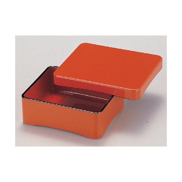 うなぎ うな重朱内朱塗 [17.6 x 15.3 x 6cm] 木製品粉混合樹脂・熱硬化性樹脂 (7-553-11) 料亭 旅館 和食器 飲食店 業務用