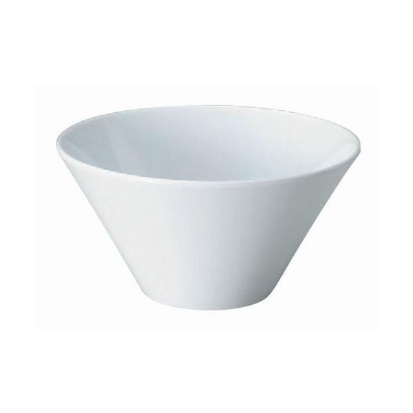 盛器 フュージョンボールホワイト PAT.P 洗浄機可 [18.4φ x 9.4cm] 熱硬化性樹脂 (7-564-1) 料亭 旅館 和食器 飲食店 業務用