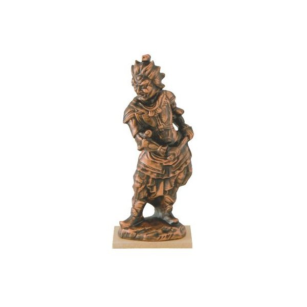 仏像 金神将 (大) 陶器 置物