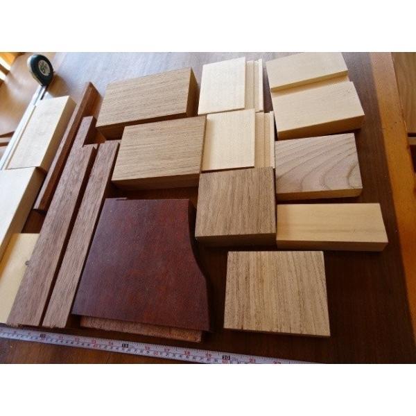 木の端材 お楽しみ 高級無垢材いろいろ 雑貨作りにいかが? 送料込|setoshikkui-no1|04