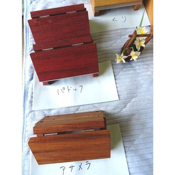トイレットペーパーホルダー木製 材質、色おまかせ♪シンプルなデザイン setoshikkui-no1 03