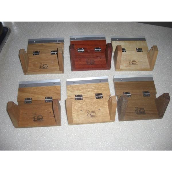 トイレットペーパーホルダー木製 材質、色おまかせ♪シンプルなデザイン setoshikkui-no1 06