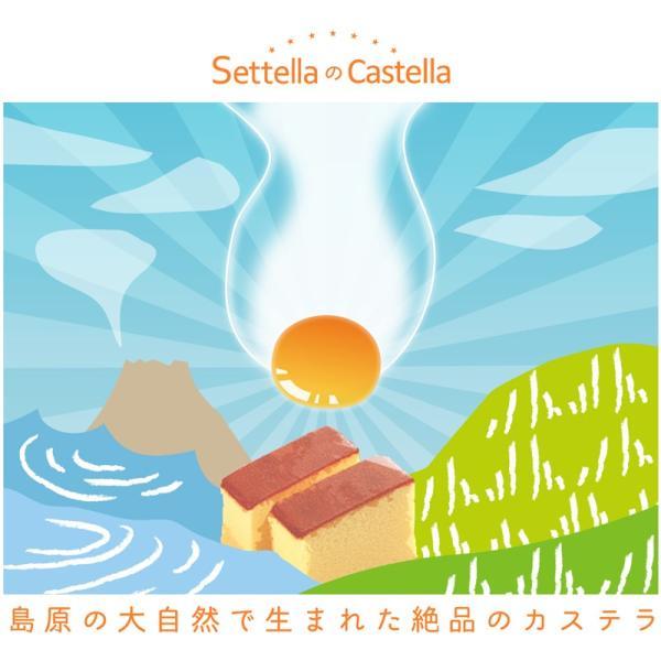 長崎カステラ 2本入 帰省 お土産 お盆 お供え|settella|02