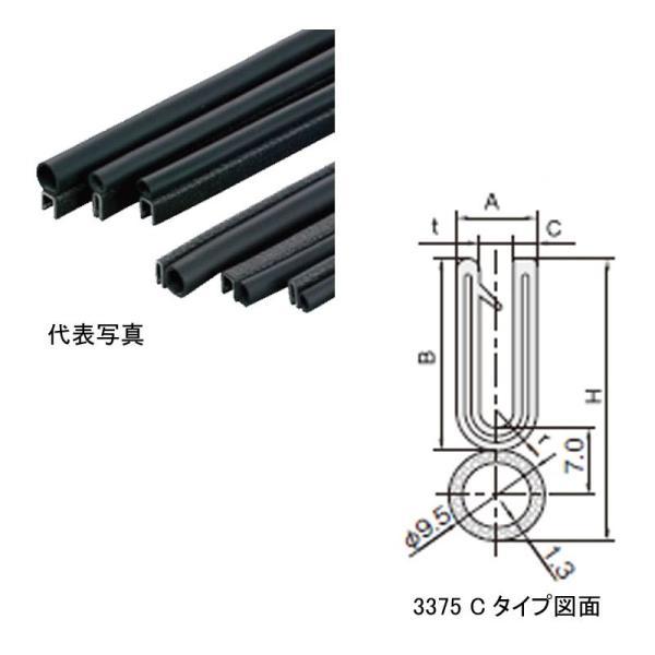 3375-B-3X80C-15M 岩田製作所 トリムシール 対応板厚7.0-8.5mm 15M巻