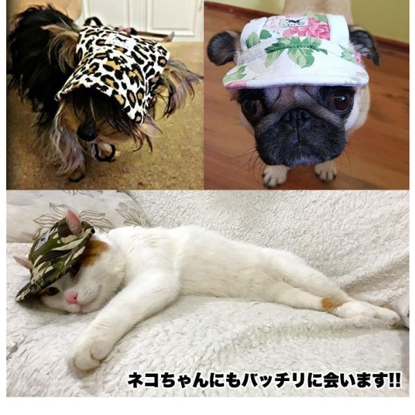 犬 帽子 猫 キャップ ペット 服 犬の帽子 sevenbridge 04