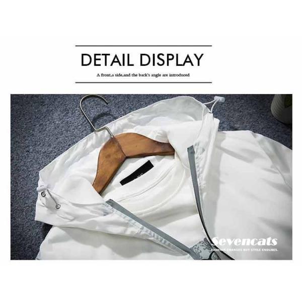 マウンテンパーカー メンズ 春 新作 ジャケット ブルゾン フード付き ミリタリージャケット メンズ アウター カジュアル ジャケット メンズパーカー 送料無料|sevencats|05