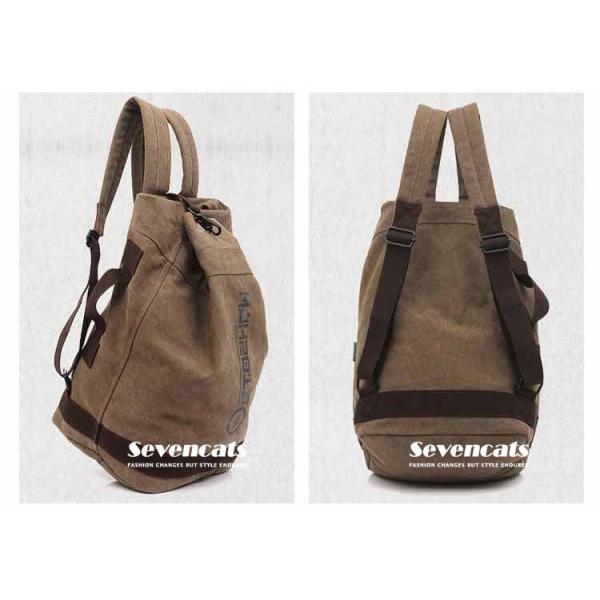リュックサック デイパック メンズ 帆布バッグ キャンバス 人気 バッグ メンズ 通勤 メンズバッグ カジュアルバッグ カバン アウトドア 新作 布製 送料無料|sevencats|14