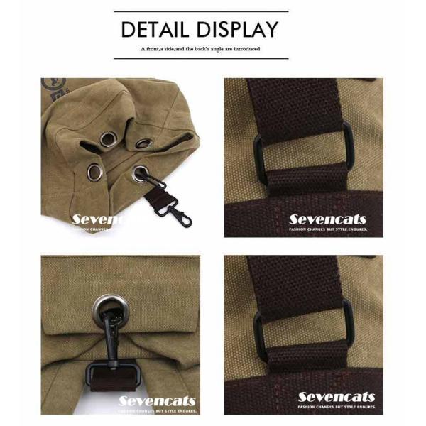 リュックサック デイパック メンズ 帆布バッグ キャンバス 人気 バッグ メンズ 通勤 メンズバッグ カジュアルバッグ カバン アウトドア 新作 布製 送料無料|sevencats|15