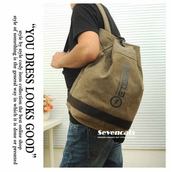 リュックサック デイパック メンズ 帆布バッグ キャンバス 人気 バッグ メンズ 通勤 メンズバッグ カジュアルバッグ カバン アウトドア 新作 布製 送料無料|sevencats|03