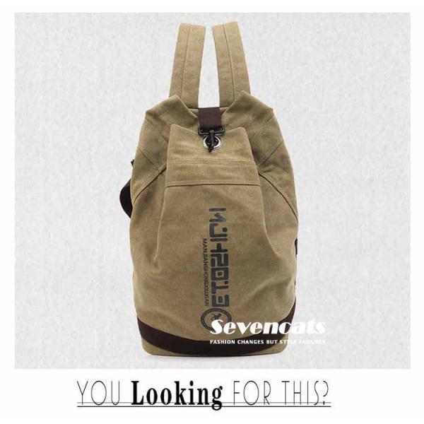 リュックサック デイパック メンズ 帆布バッグ キャンバス 人気 バッグ メンズ 通勤 メンズバッグ カジュアルバッグ カバン アウトドア 新作 布製 送料無料|sevencats|05