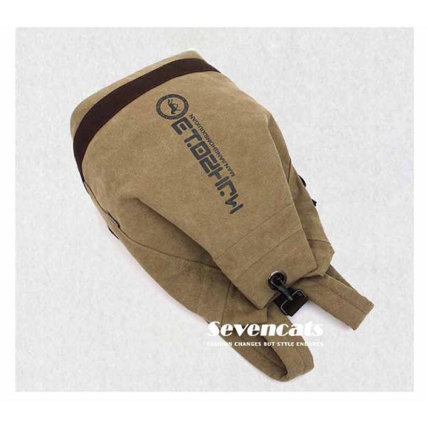 リュックサック デイパック メンズ 帆布バッグ キャンバス 人気 バッグ メンズ 通勤 メンズバッグ カジュアルバッグ カバン アウトドア 新作 布製 送料無料|sevencats|07