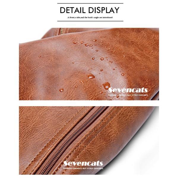 ウエストバッグ メンズ バッグ ショルダーバッグ 新作 ビジネスバッグ カジュアルバッグ 通勤 バッグ 鞄 カバン 送料無料|sevencats|10