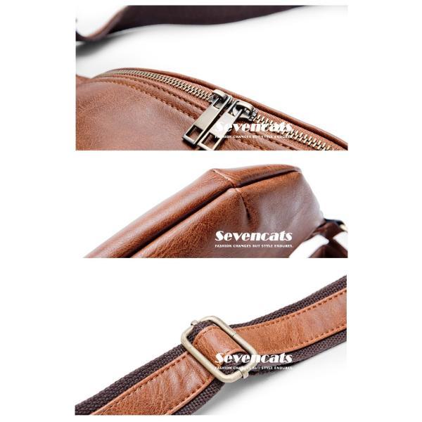 ウエストバッグ メンズ バッグ ショルダーバッグ 新作 ビジネスバッグ カジュアルバッグ 通勤 バッグ 鞄 カバン 送料無料|sevencats|11