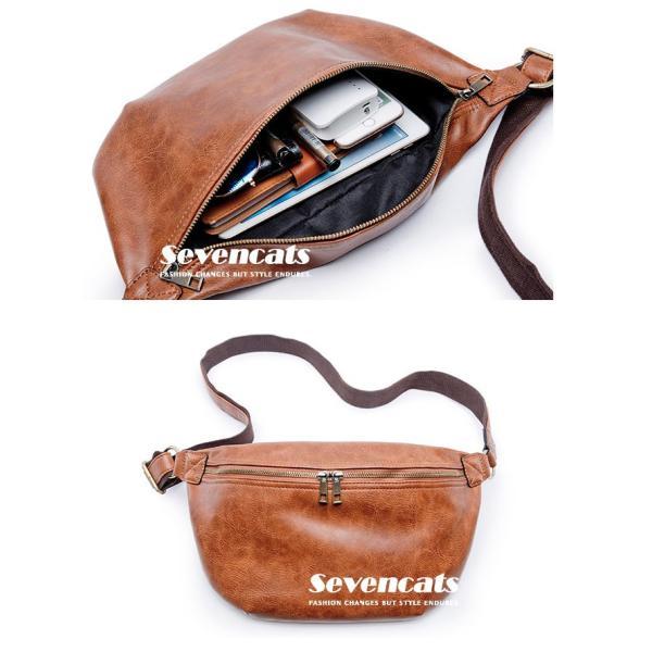 ウエストバッグ メンズ バッグ ショルダーバッグ 新作 ビジネスバッグ カジュアルバッグ 通勤 バッグ 鞄 カバン 送料無料|sevencats|12