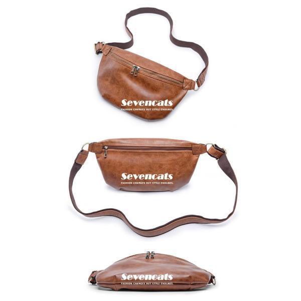 ウエストバッグ メンズ バッグ ショルダーバッグ 新作 ビジネスバッグ カジュアルバッグ 通勤 バッグ 鞄 カバン 送料無料|sevencats|13