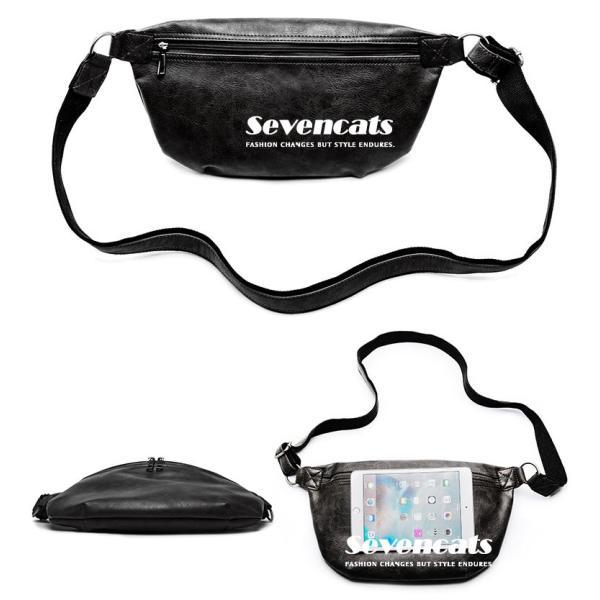 ウエストバッグ メンズ バッグ ショルダーバッグ 新作 ビジネスバッグ カジュアルバッグ 通勤 バッグ 鞄 カバン 送料無料|sevencats|15