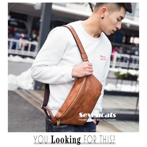 ウエストバッグ メンズ バッグ ショルダーバッグ 新作 ビジネスバッグ カジュアルバッグ 通勤 バッグ 鞄 カバン 送料無料|sevencats|03