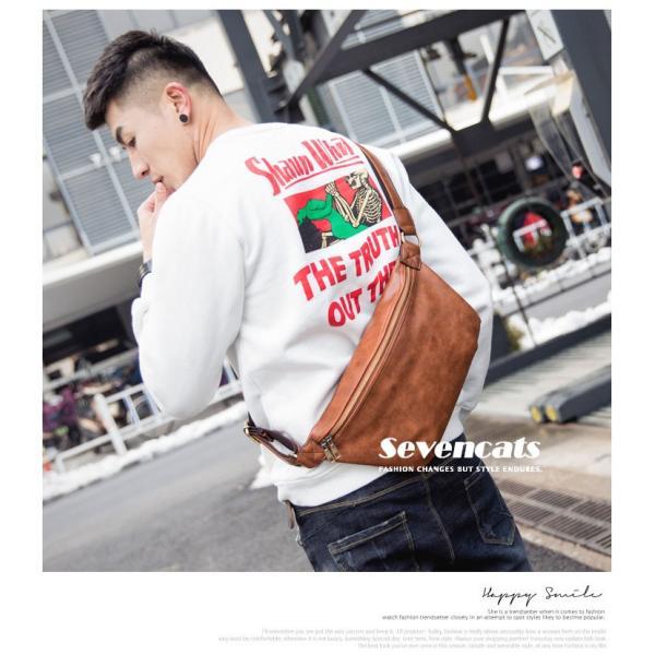 ウエストバッグ メンズ バッグ ショルダーバッグ 新作 ビジネスバッグ カジュアルバッグ 通勤 バッグ 鞄 カバン 送料無料|sevencats|05