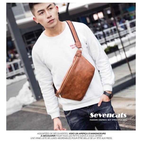 ウエストバッグ メンズ バッグ ショルダーバッグ 新作 ビジネスバッグ カジュアルバッグ 通勤 バッグ 鞄 カバン 送料無料|sevencats|07