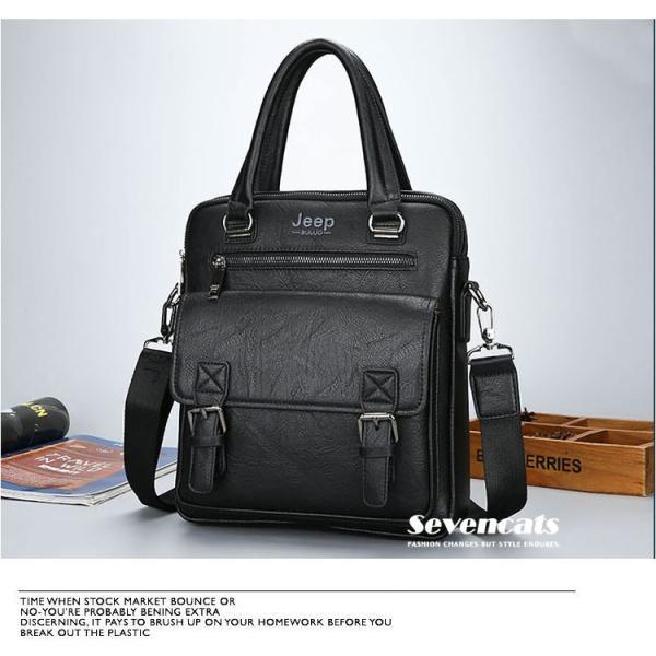 ブリーフケース メンズ ビジネスバッグ ショルダーバッグ レザーバッグ カバン 通勤バッグ 2way 斜めがけ 大容量 鞄 送料無料|sevencats|10